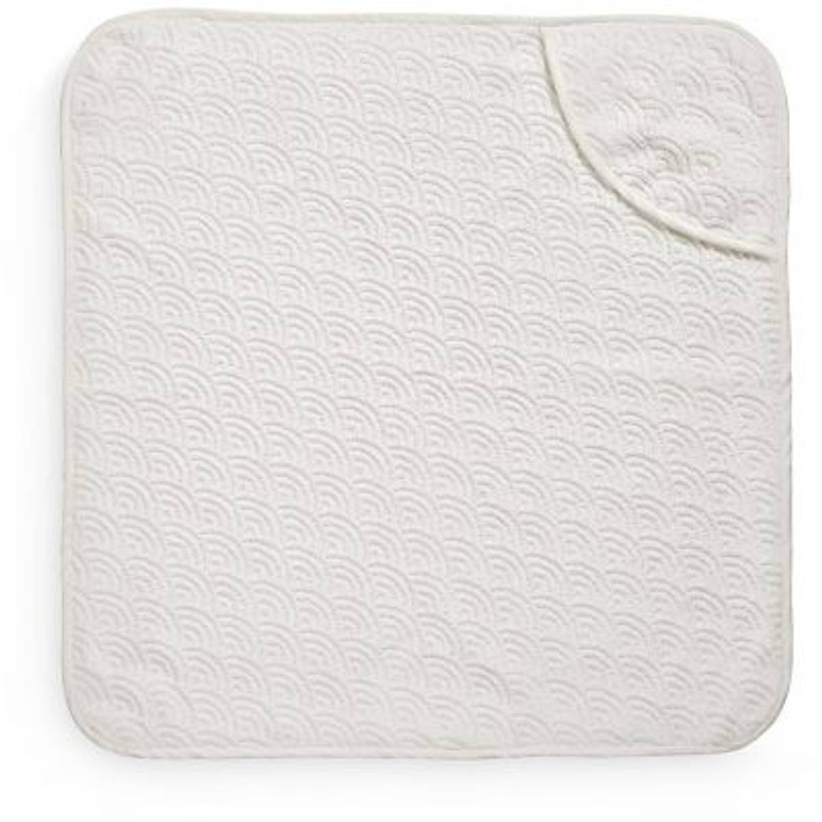Badehåndkle Junior Wave Off-White